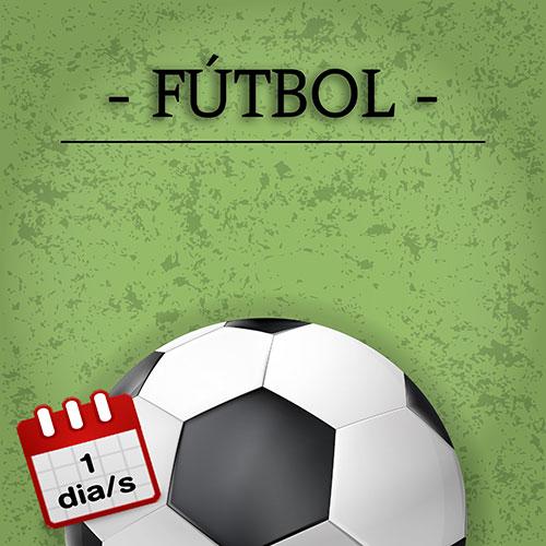 Futbol 1r-2n 1 d/s DL o DX