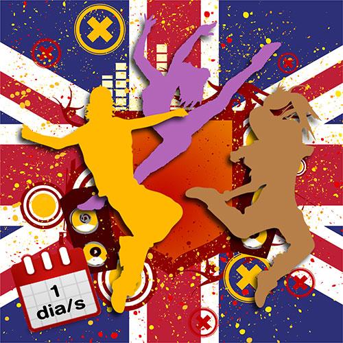 Dansa Jazz en anglès 1d/s 1r-2n DL/ DX