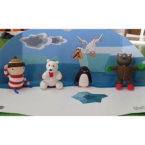 Jumping Clay Art English P4-P5 DL (Migdia)
