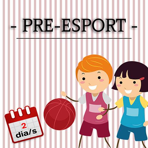 Pre-esport 1 d/s P4-P5 DM o DJ
